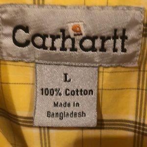 Carhartt Shirts - Carhartt. Large short sleeve button down shirt